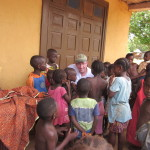 EMI Volunteer Bill with kids